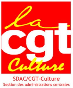 SDAC, section des administrations centrales CGT-Culture